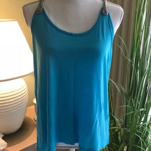 INC Tank Top - Turquoise